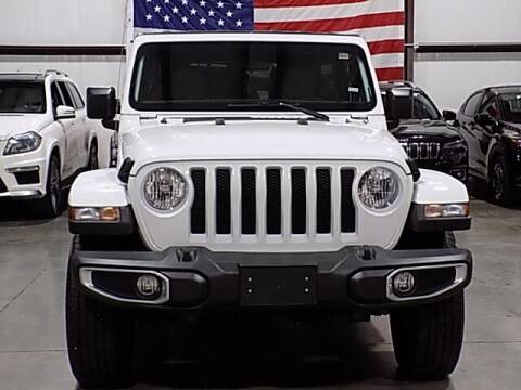 2020 Jeep Wrangler Unlimited for sale at Texas Motor Sport in Houston TX