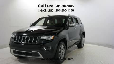 2015 Jeep Grand Cherokee for sale at NJ State Auto Used Cars in Jersey City NJ