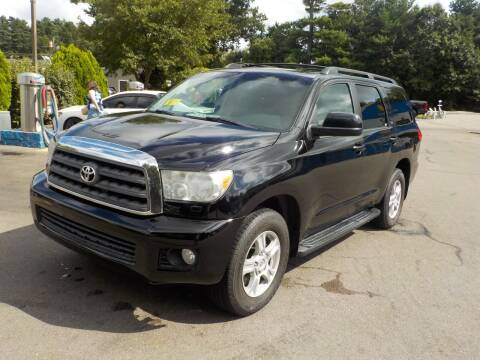 2012 Toyota Sequoia for sale at RTE 123 Village Auto Sales Inc. in Attleboro MA