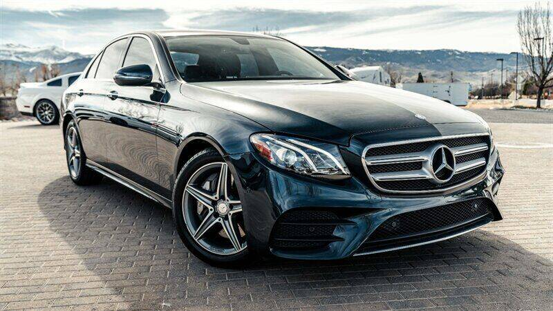 2017 Mercedes-Benz E-Class for sale at MUSCLE MOTORS AUTO SALES INC in Reno NV