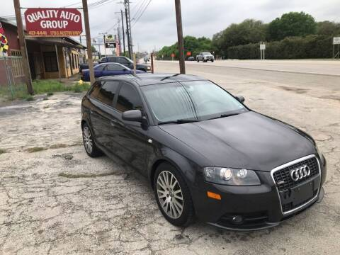 2007 Audi A3 for sale at Quality Auto Group in San Antonio TX