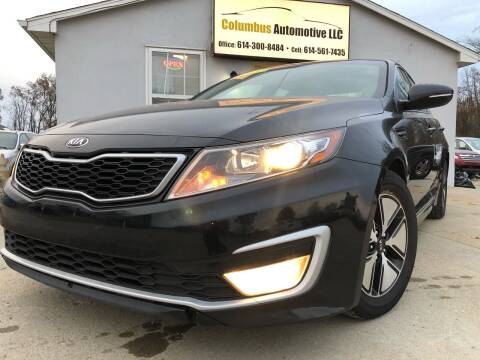 2012 Kia Optima Hybrid for sale at COLUMBUS AUTOMOTIVE in Reynoldsburg OH