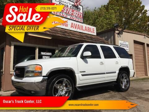 2005 GMC Yukon for sale at Oscar's Truck Center, LLC in Houston TX