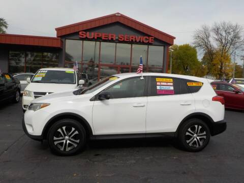2013 Toyota RAV4 for sale at Super Service Used Cars in Milwaukee WI