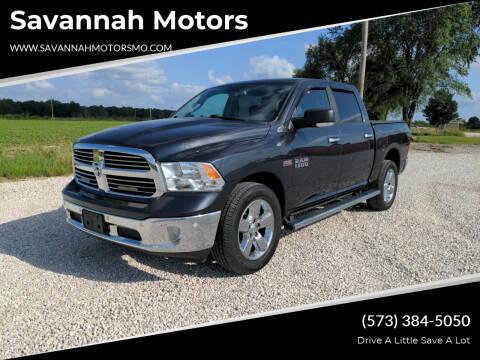 2017 RAM Ram Pickup 1500 for sale at Savannah Motors in Elsberry MO