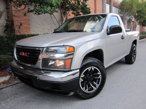 2007 GMC Canyon for sale at FLORIDACARSTOGO in West Palm Beach FL