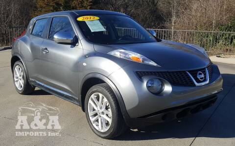 2012 Nissan JUKE for sale at A & A IMPORTS OF TN in Madison TN