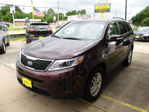 2014 Kia Sorento for sale at Metroplex Motors Inc. in Houston TX