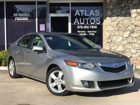 2010 Acura TSX for sale at ATLAS AUTOS in Marietta GA