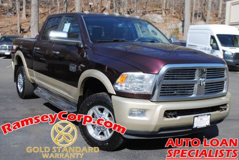 2012 RAM Ram Pickup 2500 for sale at Ramsey Corp. in West Milford NJ