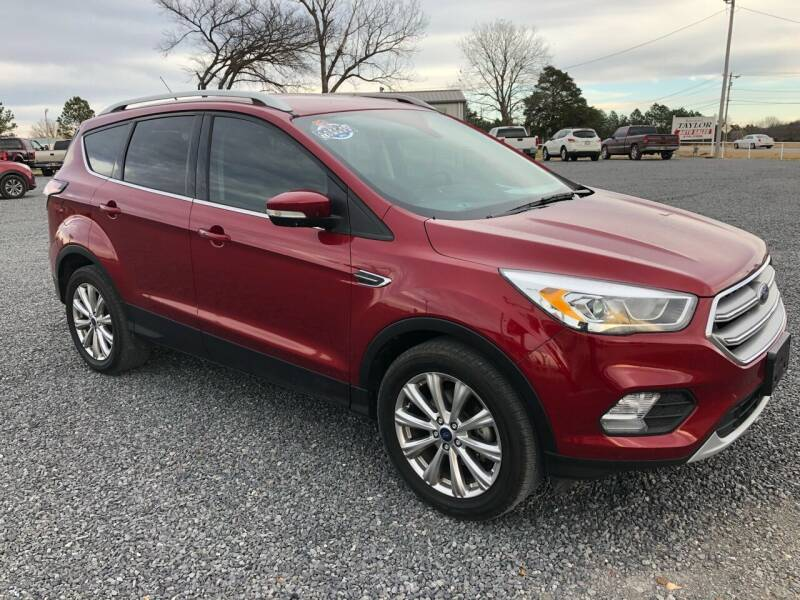 2017 Ford Escape for sale at RAYMOND TAYLOR AUTO SALES in Fort Gibson OK