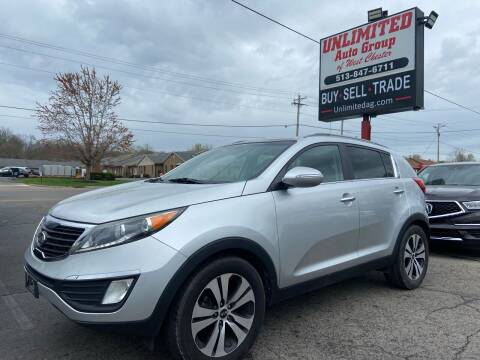 2011 Kia Sportage for sale at Unlimited Auto Group in West Chester OH