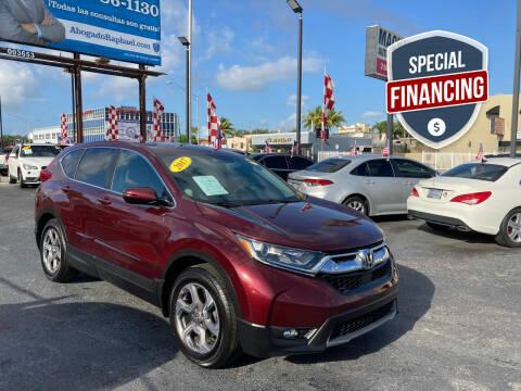 2017 Honda CR-V for sale at MACHADO AUTO SALES in Miami FL