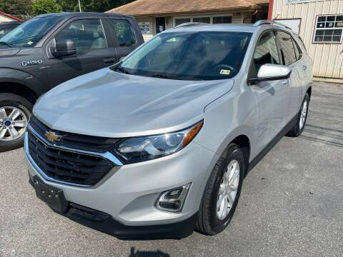 2018 Chevrolet Equinox for sale at THE AUTOMOTIVE CONNECTION in Atkins VA