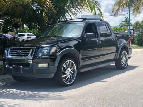 2010 Ford Explorer Sport Trac for sale at L G AUTO SALES in Boynton Beach FL