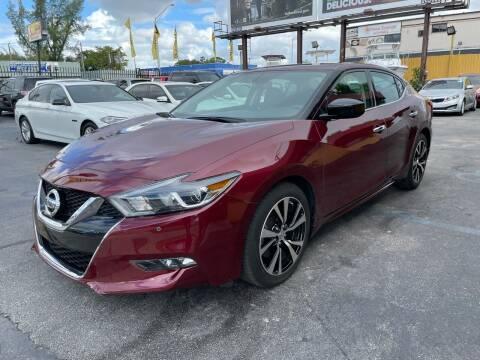 2018 Nissan Maxima for sale at AUTO ALLIANCE LLC in Miami FL