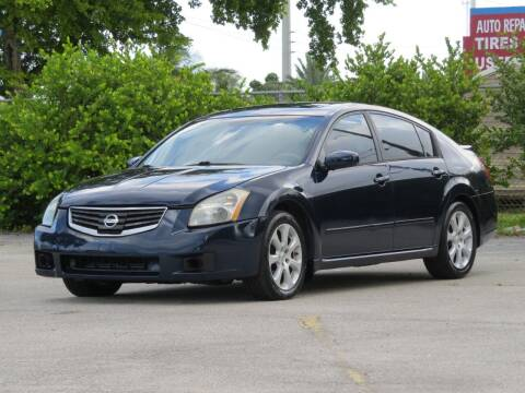 2008 Nissan Maxima for sale at DK Auto Sales in Hollywood FL