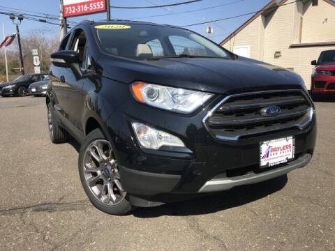 2020 Ford EcoSport for sale at PAYLESS CAR SALES of South Amboy in South Amboy NJ