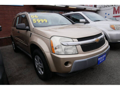 2006 Chevrolet Equinox for sale at MICHAEL ANTHONY AUTO SALES in Plainfield NJ