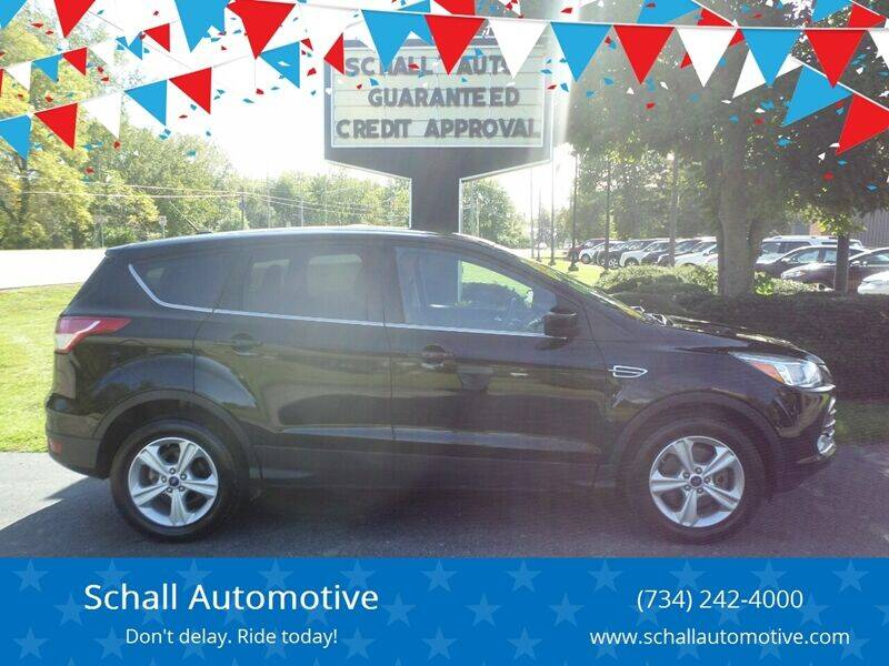 2016 Ford Escape for sale at Schall Automotive in Monroe MI