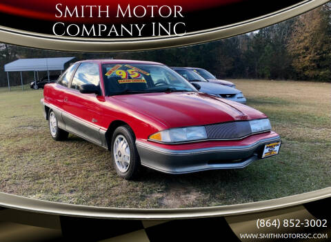 1995 Buick Skylark for sale at Smith Motor Company INC in Mc Cormick SC