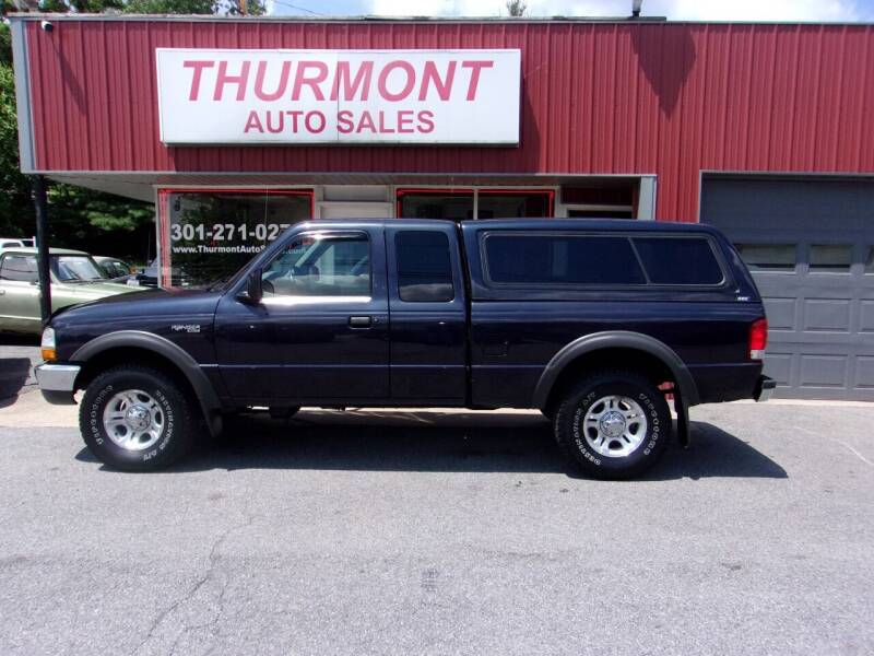 2000 Ford Ranger for sale at THURMONT AUTO SALES in Thurmont MD