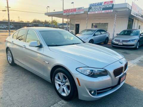 2012 BMW 5 Series for sale at Dream Motors in Sacramento CA