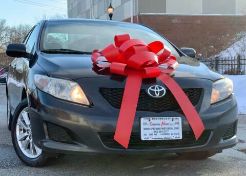 2009 Toyota Corolla for sale at Speedway Motors in Paterson NJ