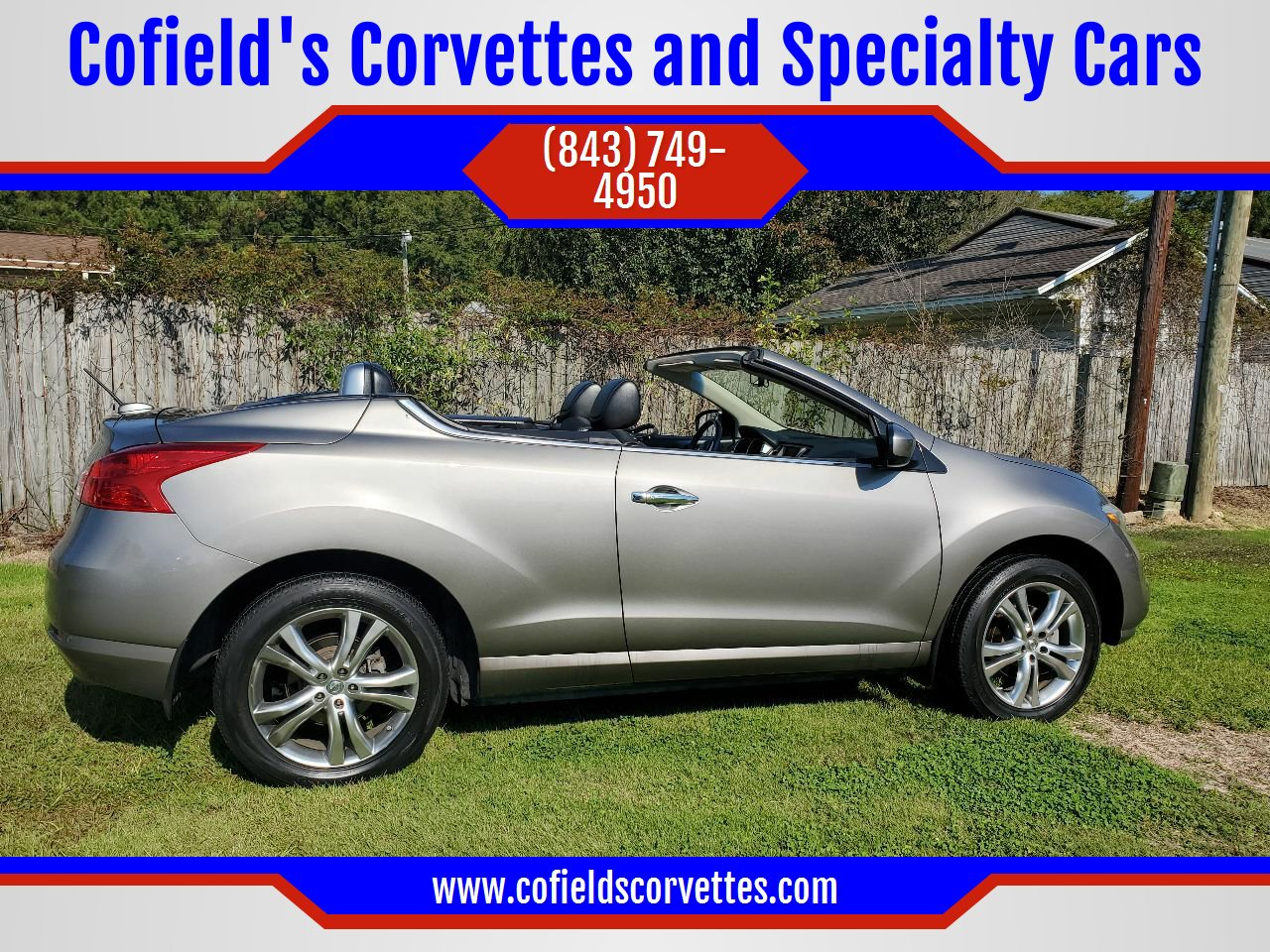 Used Nissan Murano Crosscabriolet For Sale Carsforsale Com