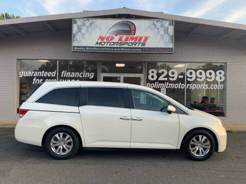 2016 Honda Odyssey for sale at NO LIMIT MOTORSPORTS in Belmont NC