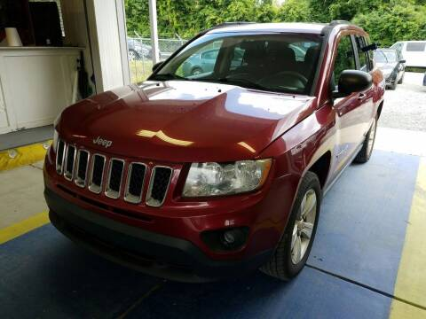 2012 Jeep Compass for sale at Lakeview Motors in Clarksville VA