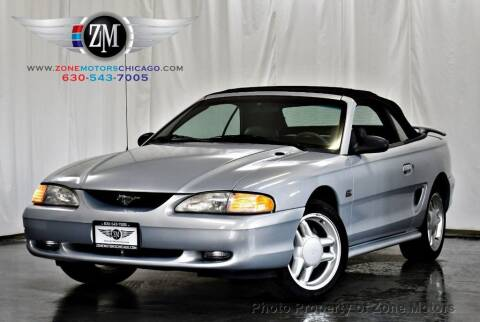 1994 Ford Mustang for sale at ZONE MOTORS in Addison IL