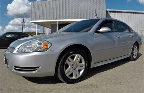 2013 Chevrolet Impala for sale at Darryl's Trenton Auto Sales in Trenton TN
