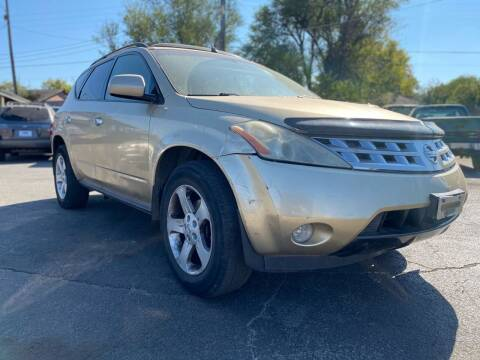 2003 Nissan Murano for sale at Auto Start in Oklahoma City OK