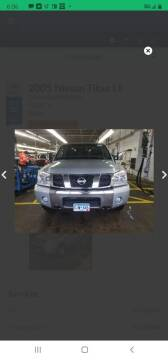 2005 Nissan Titan for sale at WB Auto Sales LLC in Barnum MN