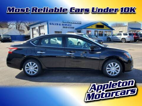 2013 Nissan Sentra for sale at Appleton Motorcars Sales & Service in Appleton WI