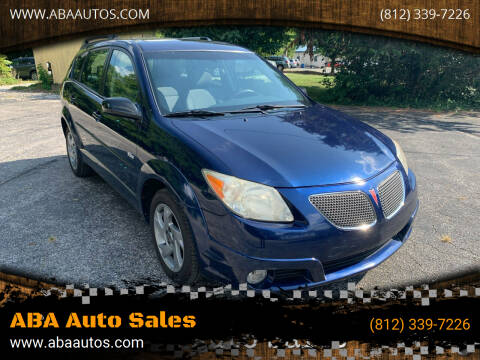 2005 Pontiac Vibe for sale at ABA Auto Sales in Bloomington IN