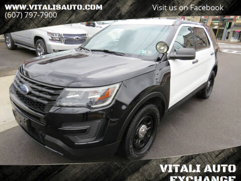 2017 Ford Explorer for sale at VITALI AUTO EXCHANGE in Johnson City NY