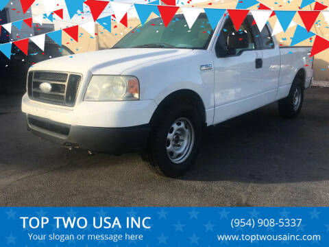 2007 Ford F-150 for sale at TOP TWO USA INC in Oakland Park FL