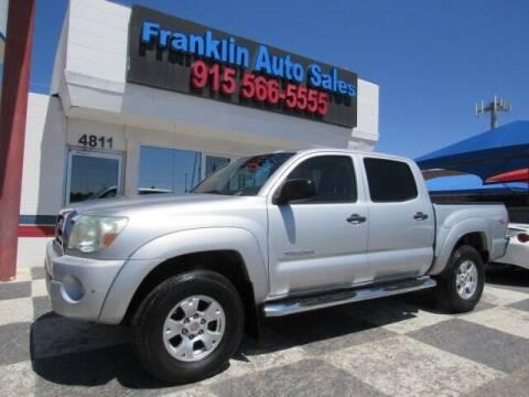 2006 Toyota Tacoma for sale at Franklin Auto Sales in El Paso TX
