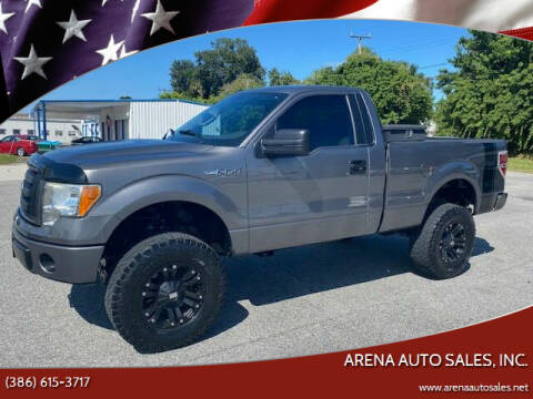2010 Ford F-150 for sale at ARENA AUTO SALES,  INC. in Holly Hill FL
