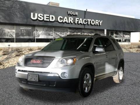 2012 GMC Acadia for sale at JOELSCARZ.COM in Flushing MI