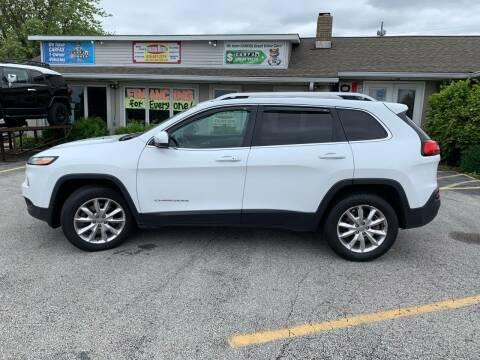 2015 Jeep Cherokee for sale at Revolution Motors LLC in Wentzville MO