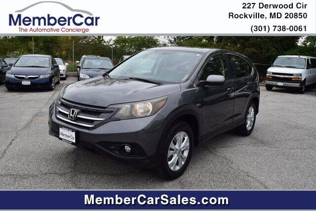 2012 Honda CR-V for sale at MemberCar in Rockville MD