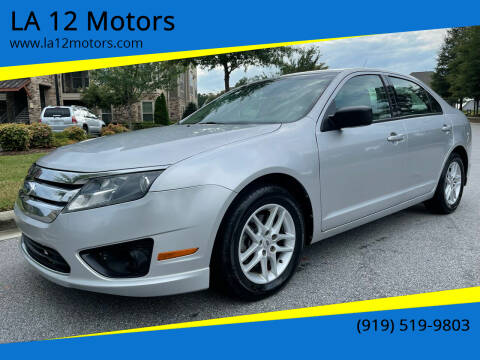 2012 Ford Fusion for sale at LA 12 Motors in Durham NC