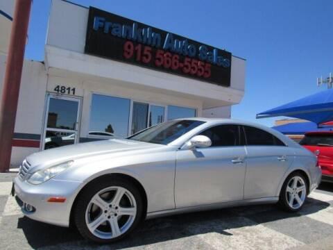 2006 Mercedes-Benz CLS for sale at Franklin Auto Sales in El Paso TX