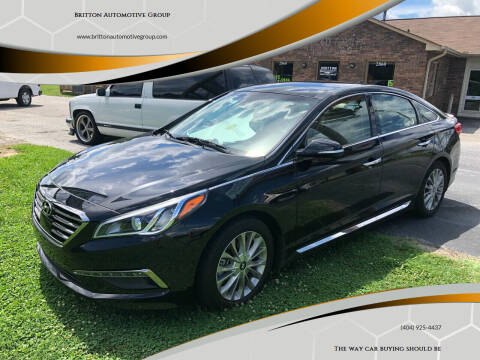 2015 Hyundai Sonata for sale at Britton Automotive Group in Loganville GA