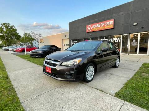 2012 Subaru Impreza for sale at HOUSE OF CARS CT in Meriden CT