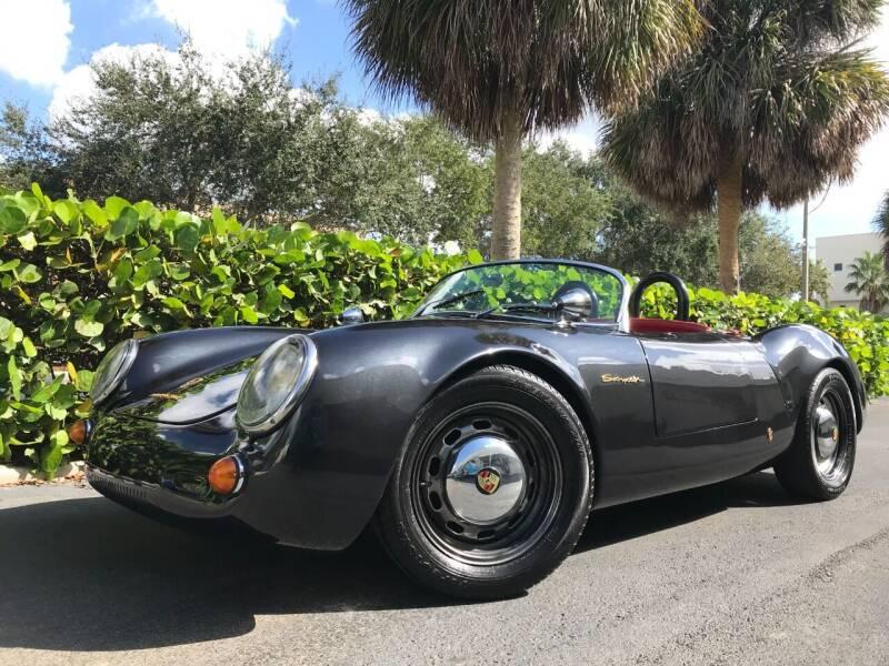 1954 Porsche 918 Spyder for sale at DS Motors in Boca Raton FL