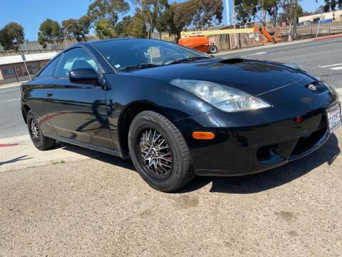 2000 Toyota Celica for sale at Beyer Enterprise in San Ysidro CA